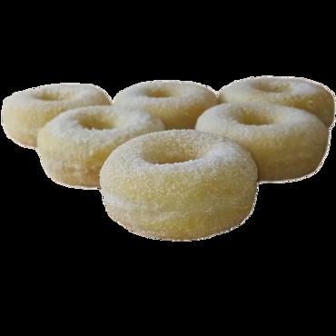 Пончик в сахаре/Donat sugar donut без начинки