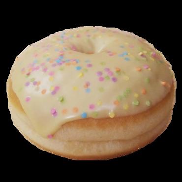"""Пончик/Donat в глазури """"Фисташка"""" с начинкой"""